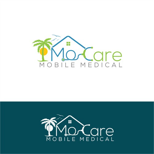 Creative logo for mobile medical care