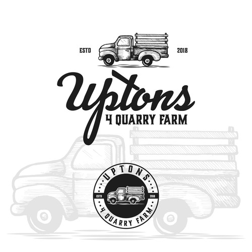 classic Farm and event space logo