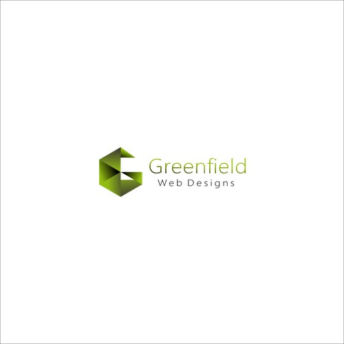 Modern designs concept for Greenfield web designs.