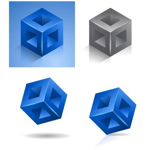 MeshModel logo design