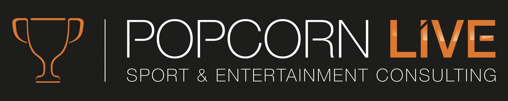 Popcorn Live logo for  Sport industry