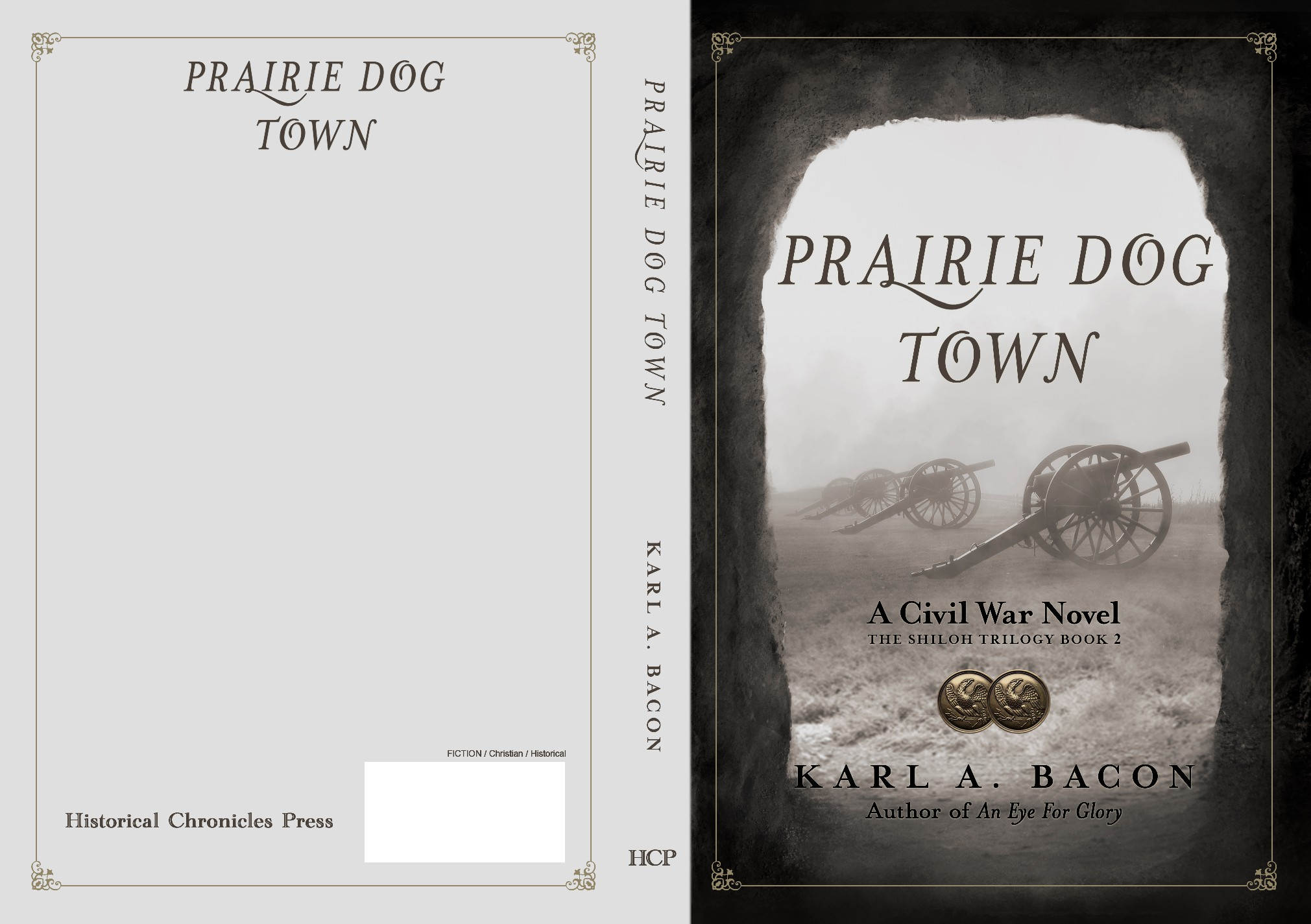 Create an intriguing American Civil War novel cover