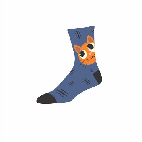 design of socks
