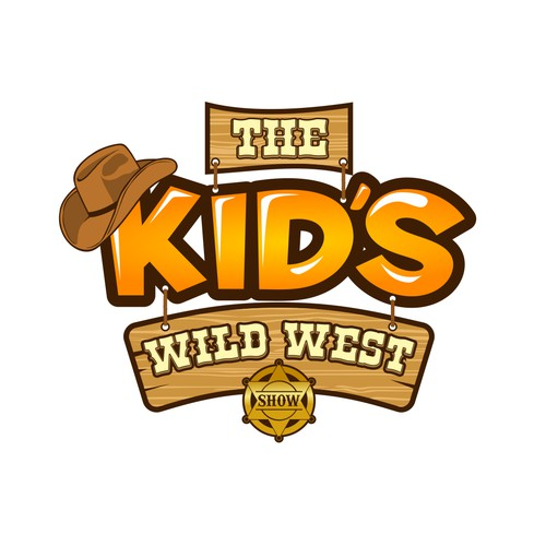 the Kid's WILD WEST Show Logo