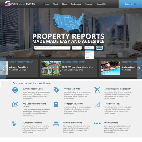 Create our new stunning Property Report site