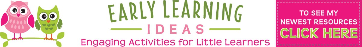 Website Header and TPT Store Header for Early Learning Ideas
