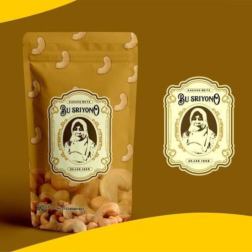 Make a Kacang Mete Bu Sriyono Product Packaging