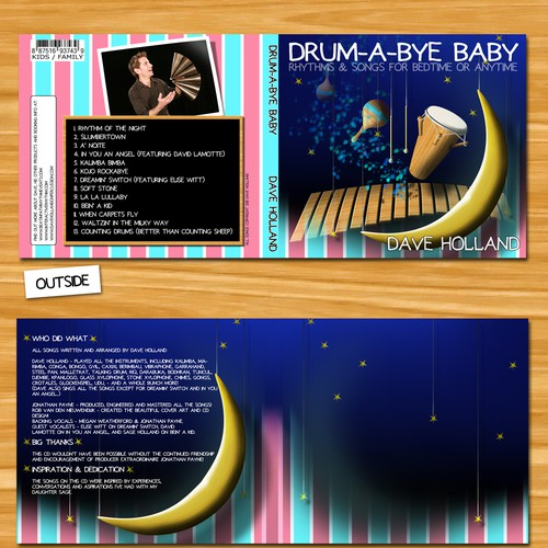 Kids' Performance Artist Needs a CD Design!
