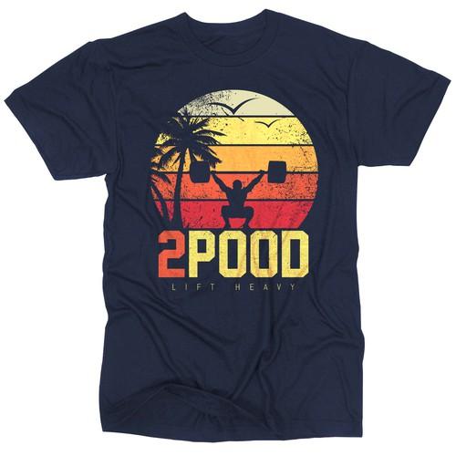 Summer Weightlifting T-Shirt