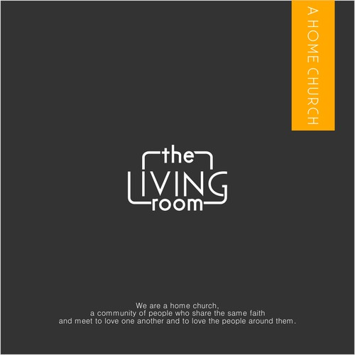 Logo for the living room, a home church
