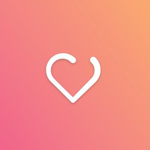 Logo and monogram for Dating website