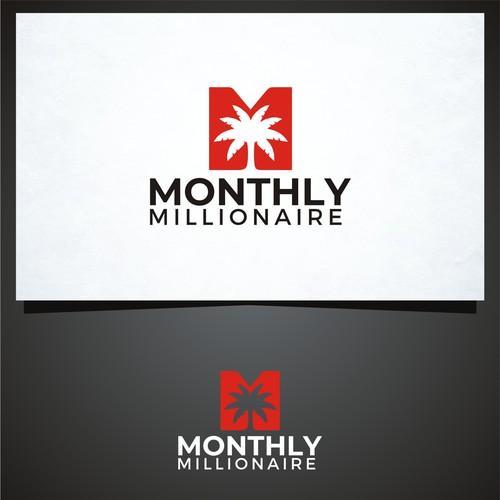 Creative logo design for Monthly Millionaire