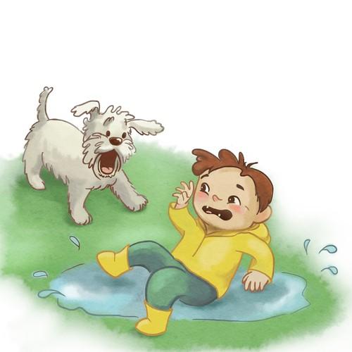 Children's book vigentte