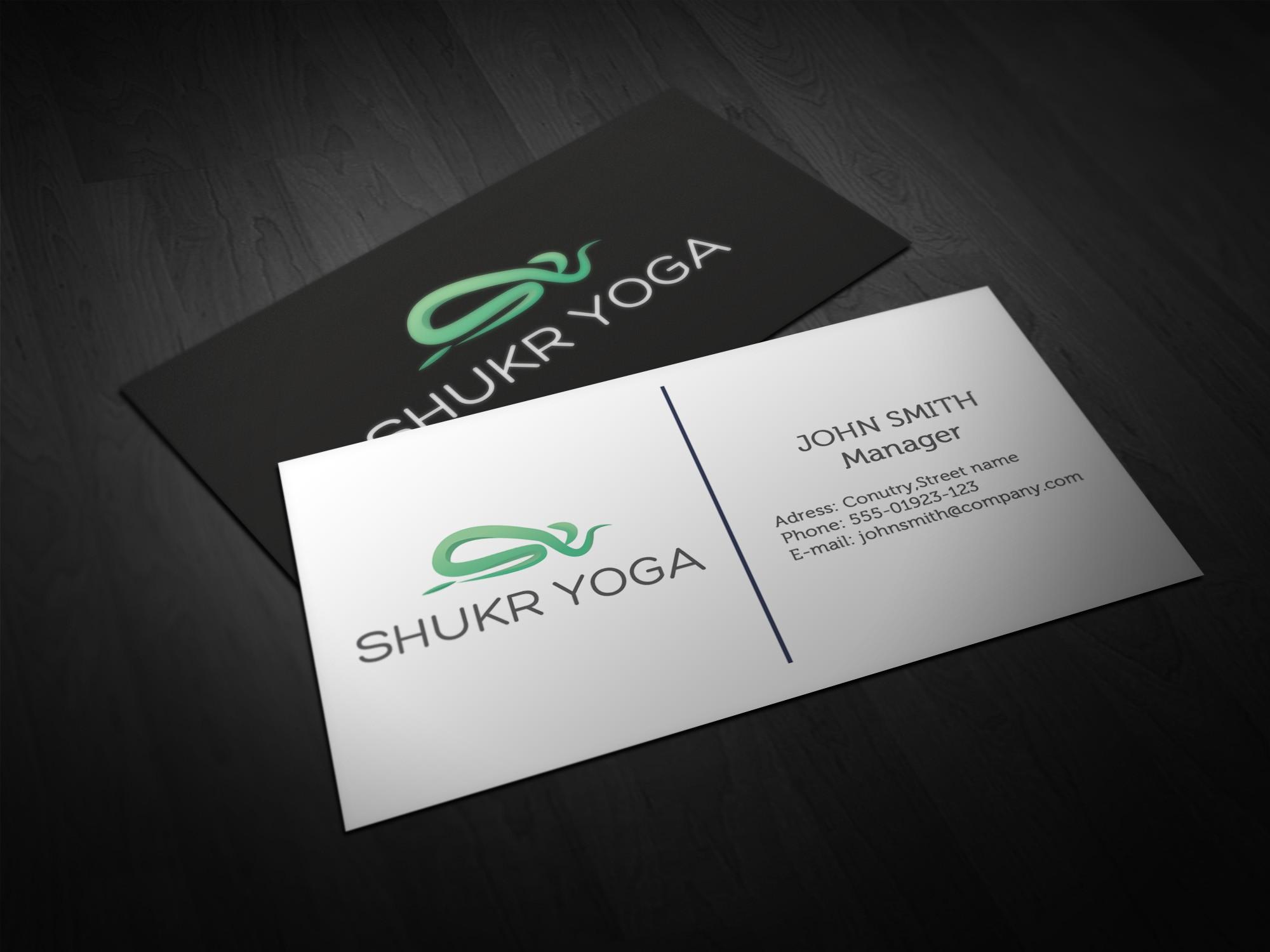 logo for Shukr yoga