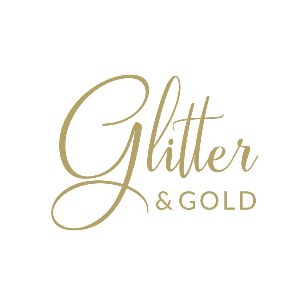 Design an eye-catching logo for Glitter & Gold
