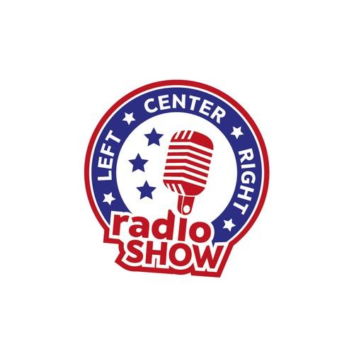 Design a logo for a political debate-style radio show