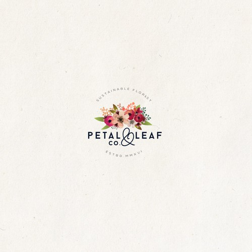 Logo for Petal & Leaf Co.