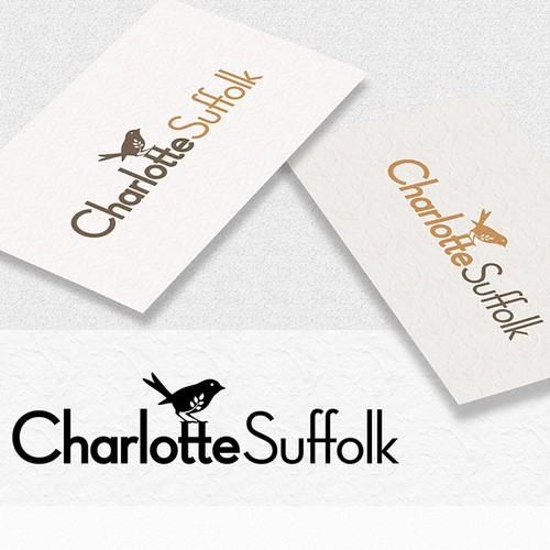 elegant logo for charlotte suffolk