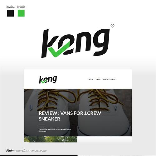 Logo Design for Keng.com / Reviews Blog