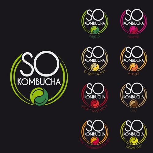 Logo design for a drink brand