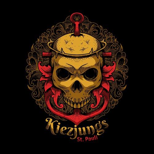 T-shirt design for Kiezjungs
