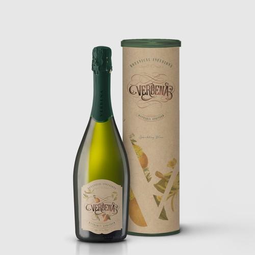 Verbena Wine Branding