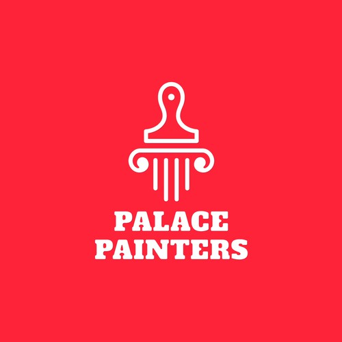 Creative logo for creative palace.
