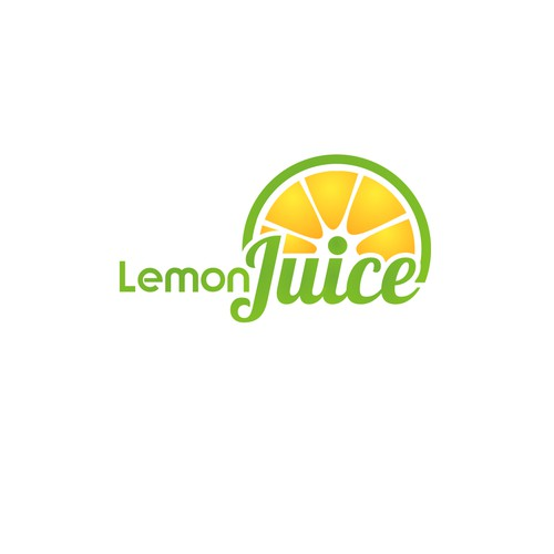 create a logo for ezine lemon juice which encompasses healthy living in and outside of the home