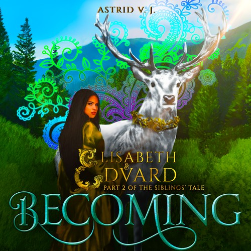 - BECOMING B02 - Illustration and book cover design