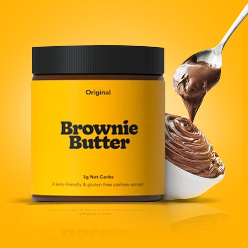 Picture for social media. Brownie Butter