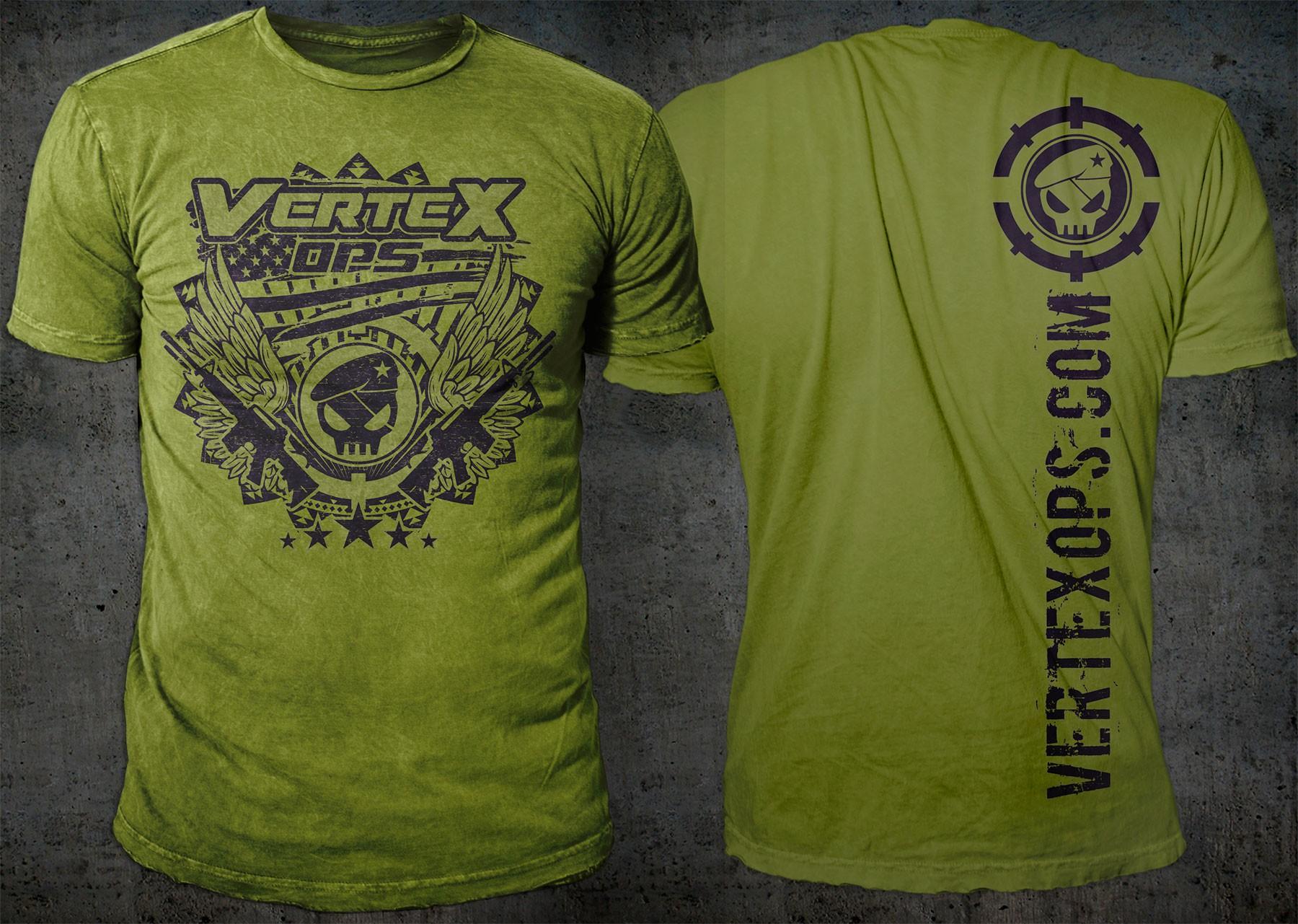T-Shirts & Hat Design for Vertex Ops!