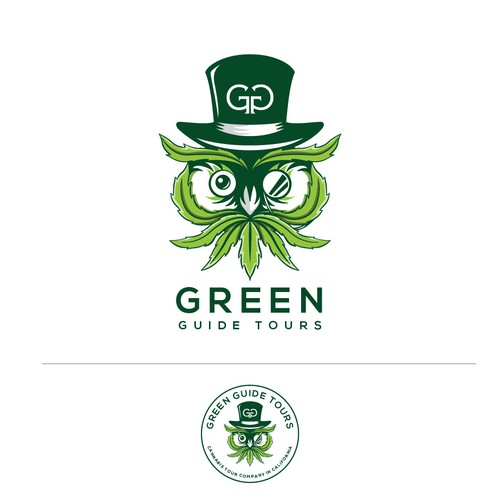 Identity concept for the #1 cannabis tour company in California
