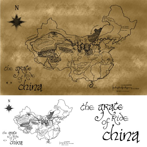 The great road of China