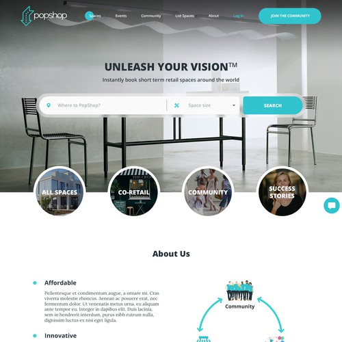 Airbnb for comercial/retail spaces