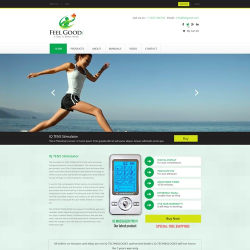 Feel Good, Inc. - Medical Equipment Sales