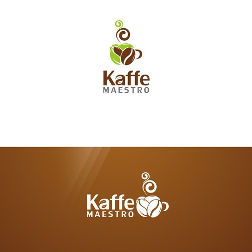 Create a logo with for a Coffee and Tea company