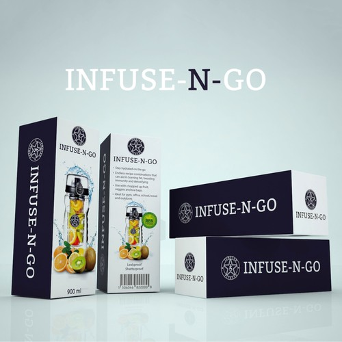 PRODUCT PACKAGING FOR INFUSE-N-GO