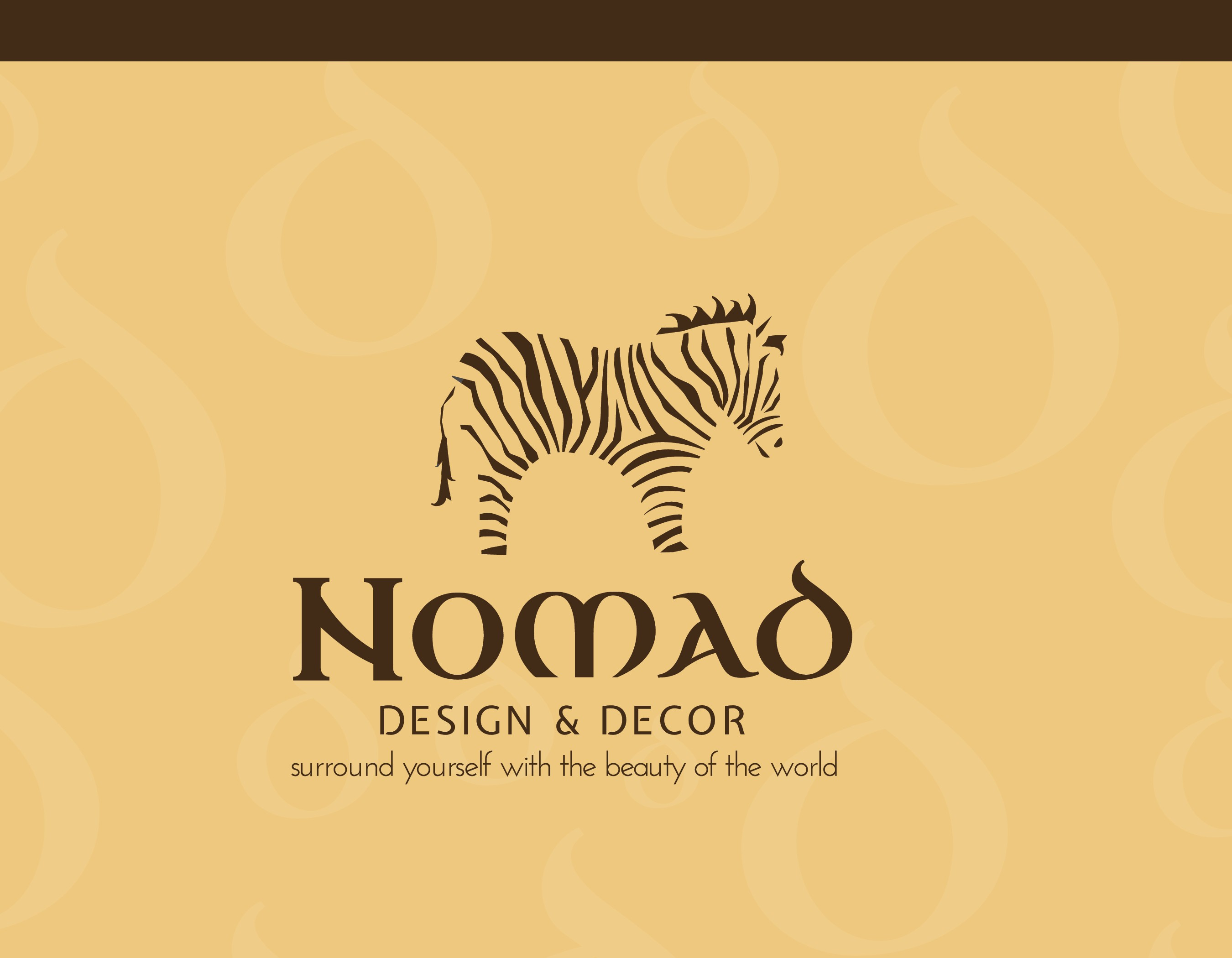 Creat a fun,colorful, contempary design for a global home decor store.