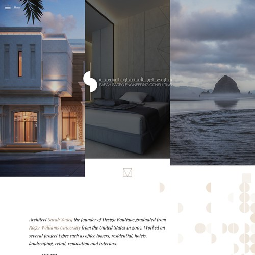 Design Website for architectural Design office