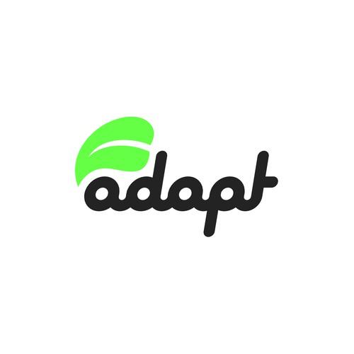 Modern logo for herbal supplement company