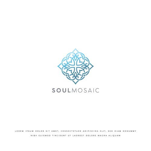 Elegant logo concept for SoulMosaic