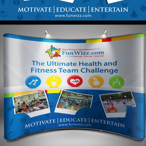 Create  The Ultimate Health and Fitness Team Challenge   Backdrop