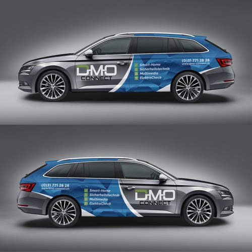 DMO  connect car wrap