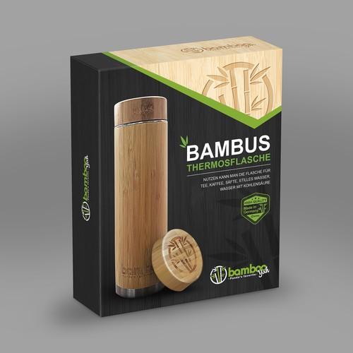 Bamboo Thermos