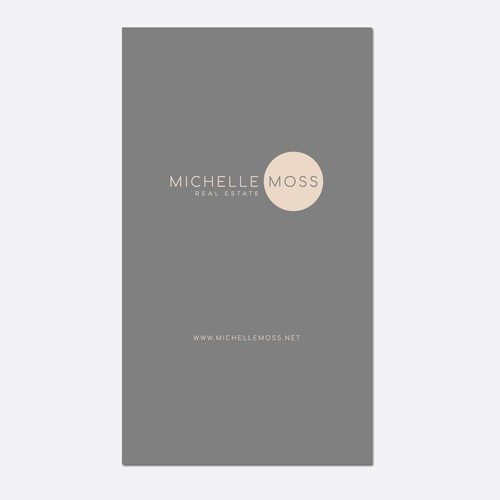 Final Logo and Businesscard for Michelle Moss Real Estate