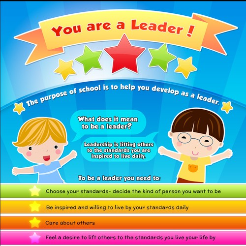 Create student planners that will help children globally become leaders.