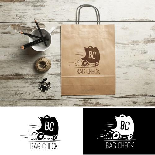 Logo. delivery bag