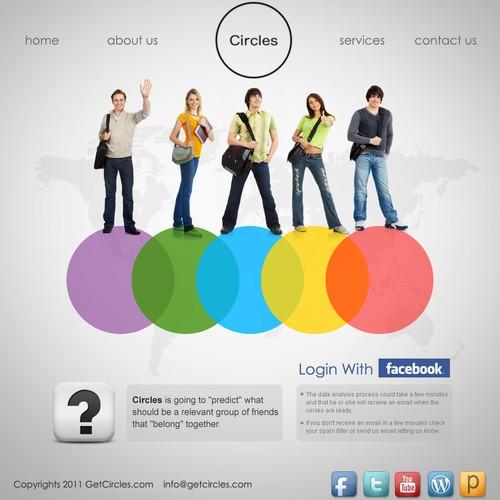 Circles needs a new website design