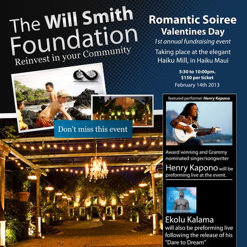 The Will Smith Foundation!