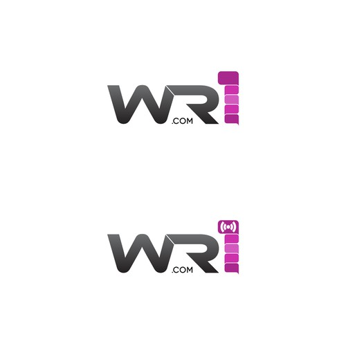 Logo for WR1.COM - (we are one) - A New Social Network App.